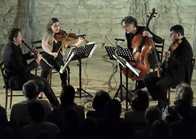 Michel Raison (F), Chloë Hanslip UK), Jiří Bárta, Karel Untermüller