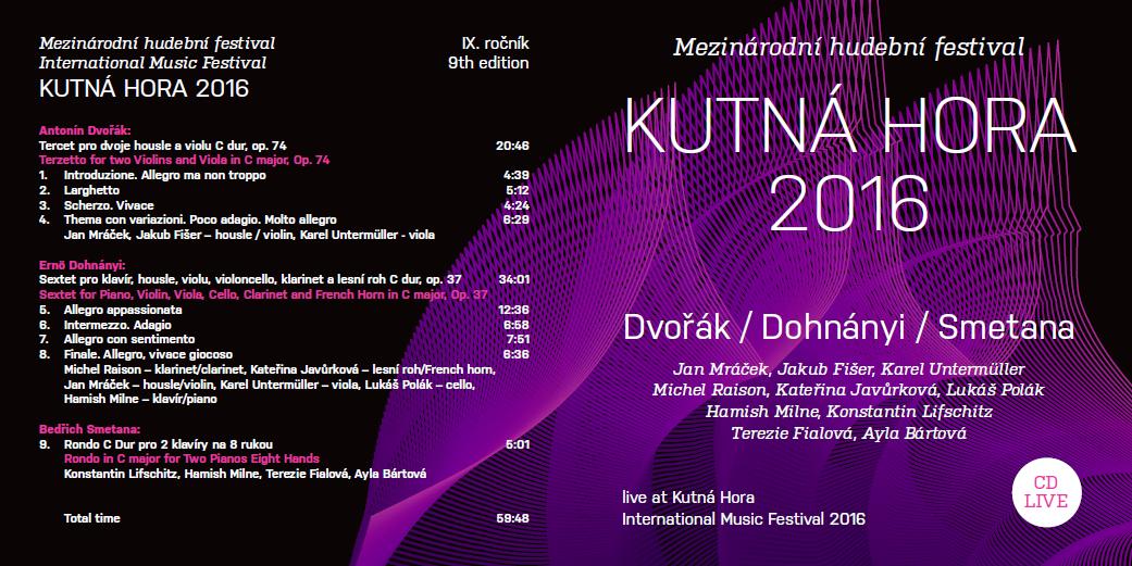 Vydáváme CD z9.ročníku MFKH 2016