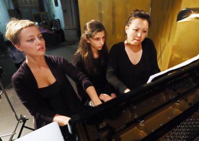 6.6.2017 (1) Terezie Fialová, Ayla Bártová, Wu Qian