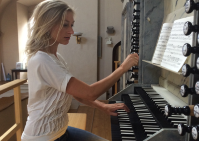 Michaela Káčerková organ